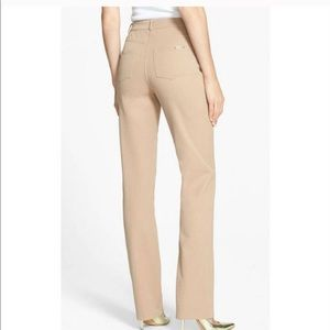 St. John yellow tag classic stretch twill pants 12